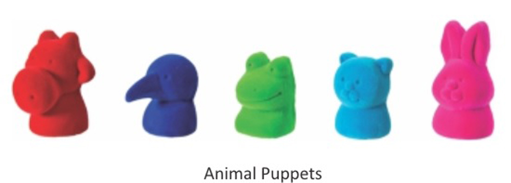 Animal Puppets - Set of 5