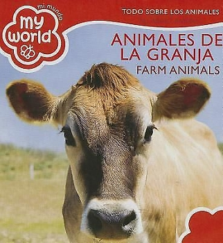 My World Board Book - Farm Animals (Bilingual)