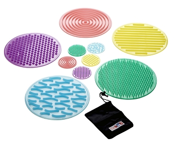 SiliShapes Sensory Circles, Set of 10