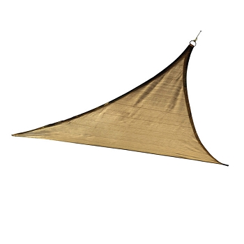 Triangle Shade Sail, 12 ft, Choice of Colors