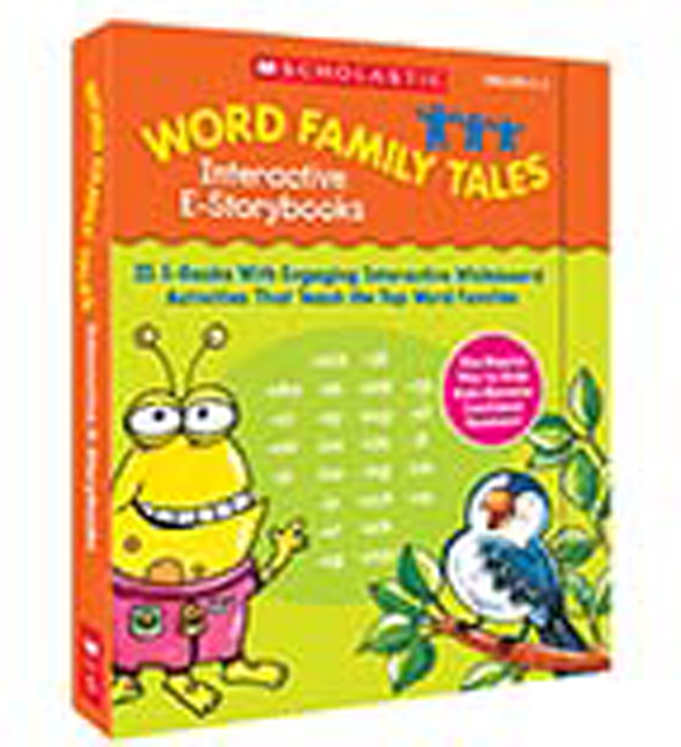 Word Family Tales Interactive E-Storybooks