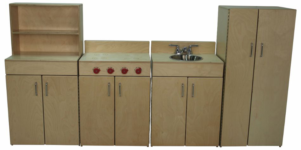 Mainstream School Age Kitchen - Set of 4 Pieces