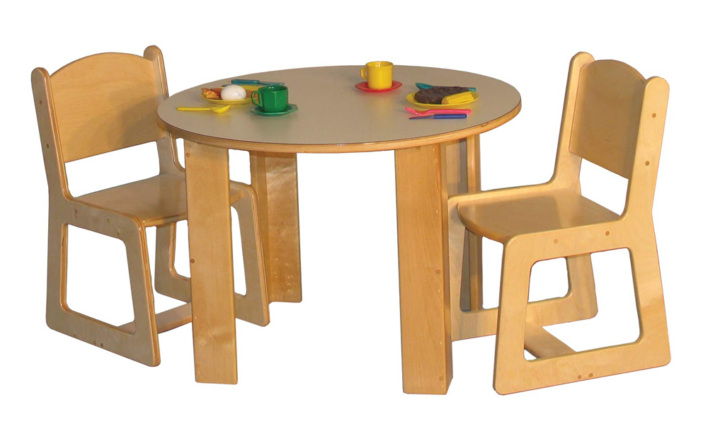 Mainstream Round Housekeeping Table (Chairs Not Included) - Multiple Sizes Available