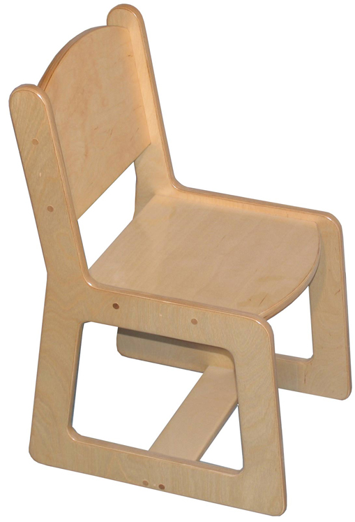 Mainstream Youth Age-Adult Chair, 18''h Seat (10''h Toddler Shown)