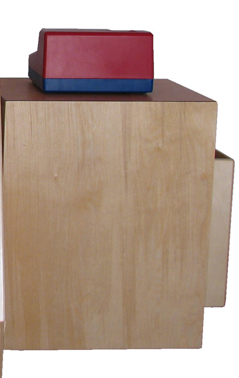 Cash Register Stand, 20''w x 15''d x 24''h (Register Sold Separately)
