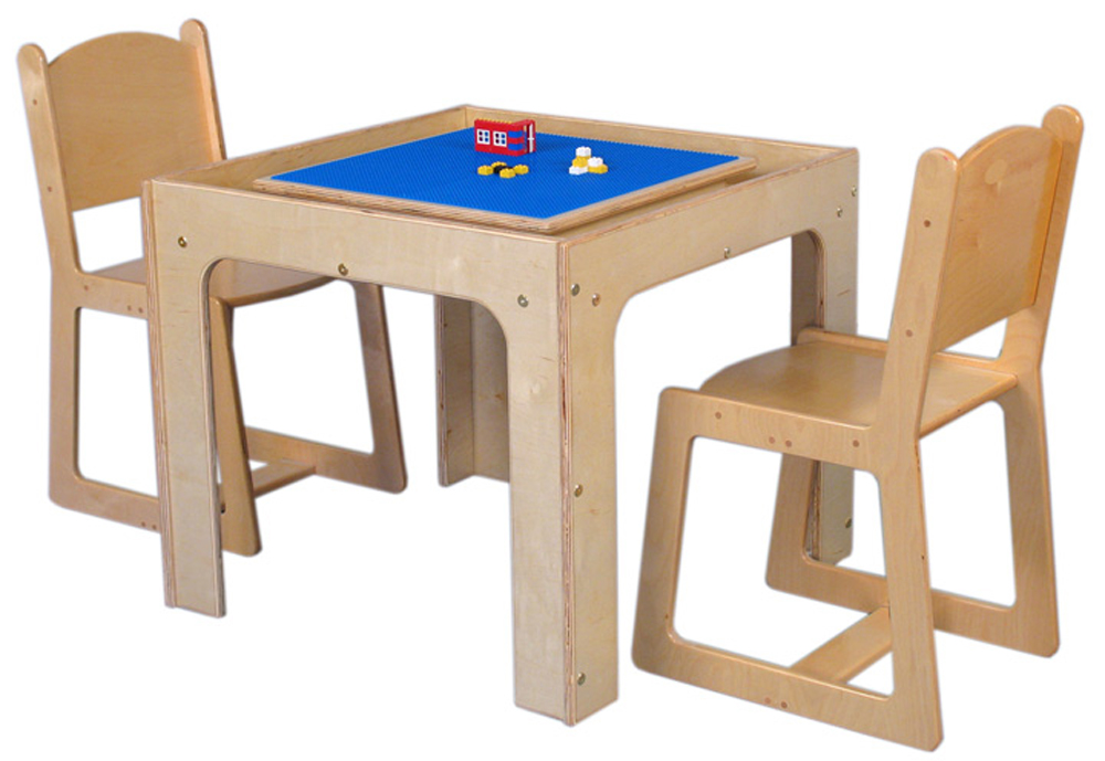 Mainstream Preschool Table Toy Playcenter for 4, 30''w x 30''d