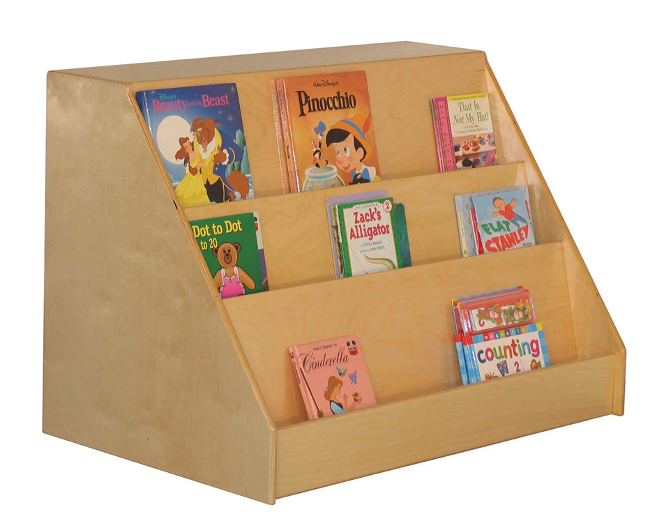 Mainstream Book Display with Storage Unit
