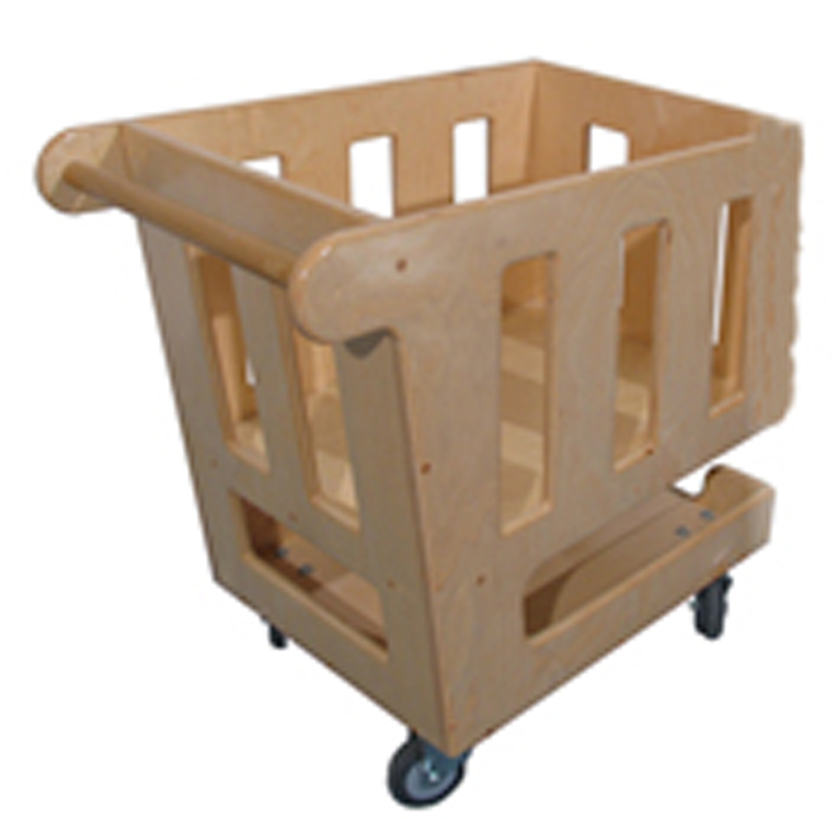 Mainstream School Age Shopping Cart, 26''w x 15''d x 30''h (Preschool shown)