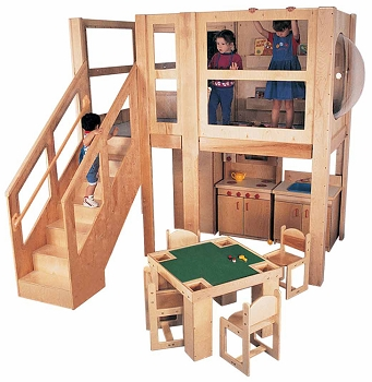 Mainstream Explorer 5 Preschool Loft (Loft Only, Furniture Not Included)