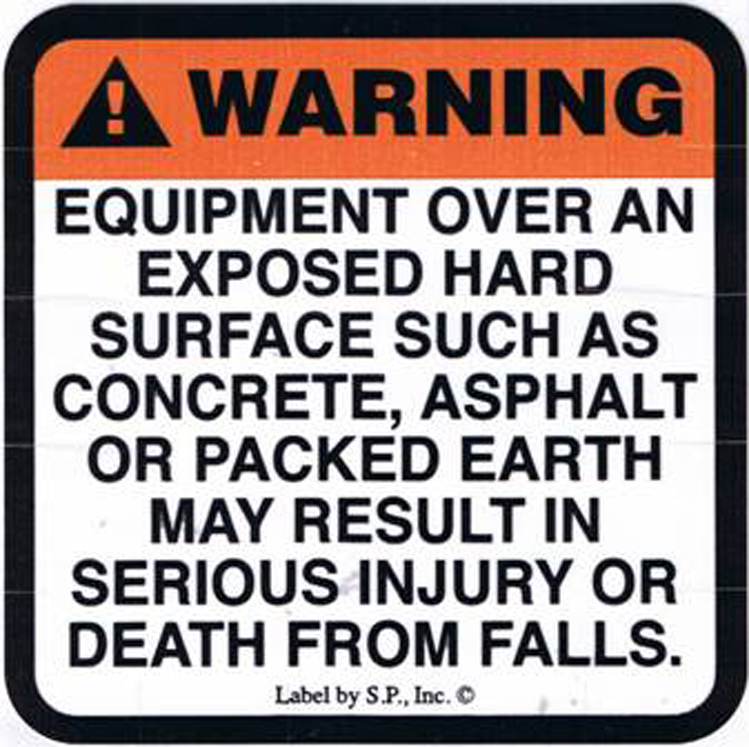 Surfacing Warning Labels - Version