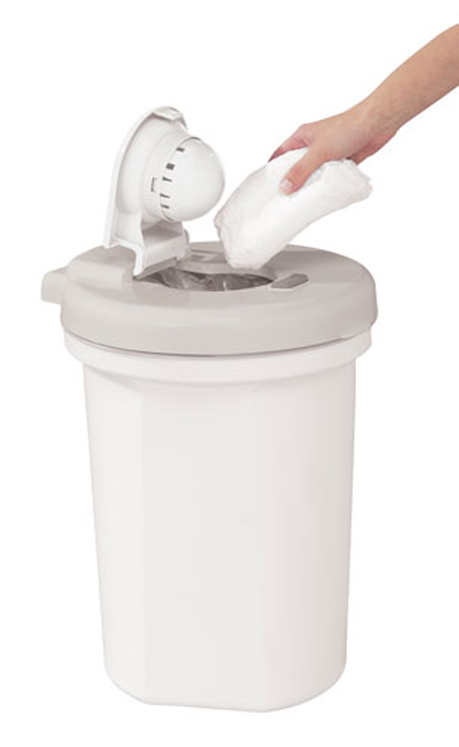 Safety 1st Easy Saver Odorless Diaper Pail