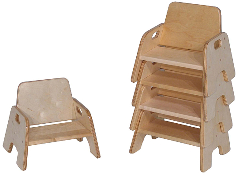 Deluxe Infant Stack Chair, 5''h seat