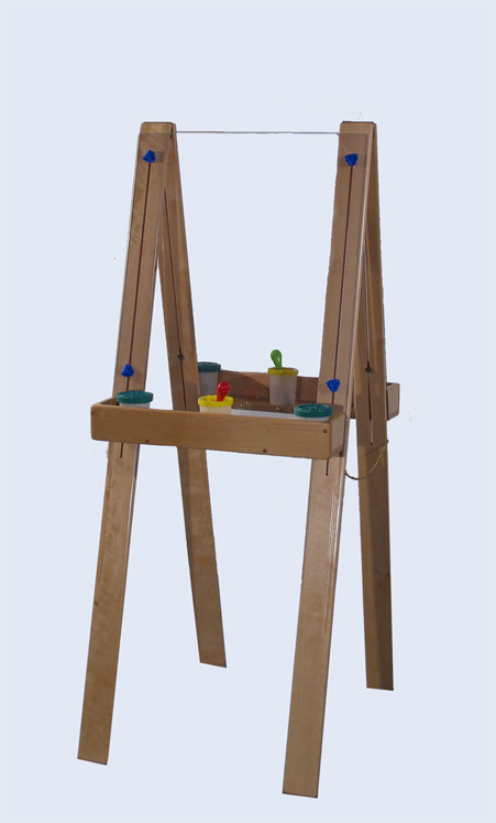 Deluxe Tall Adjustable Easel with Lexan