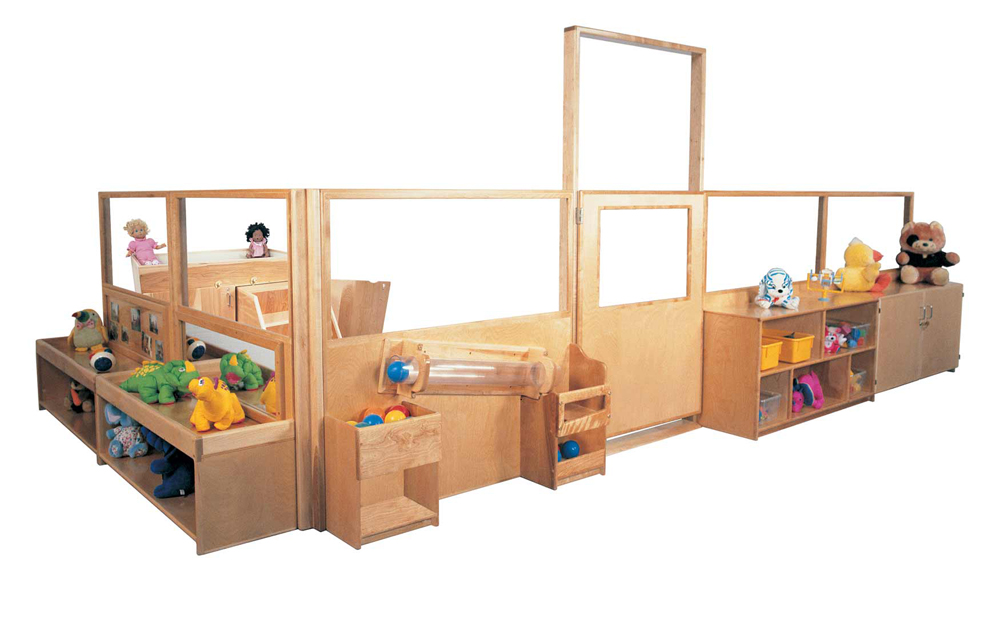 Deluxe Room Divider System, 48''h