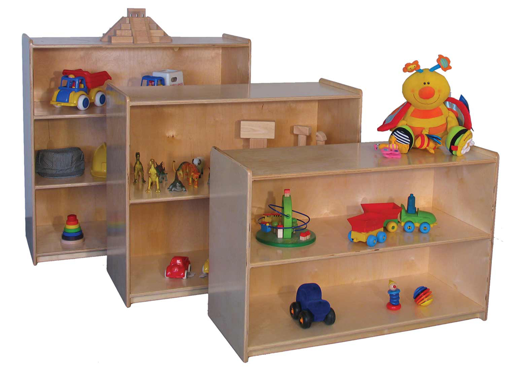 Deluxe Small Storage Unit, 36''w x 15''d x 24''h (Storage Unit in Front, Mainstream Shown)