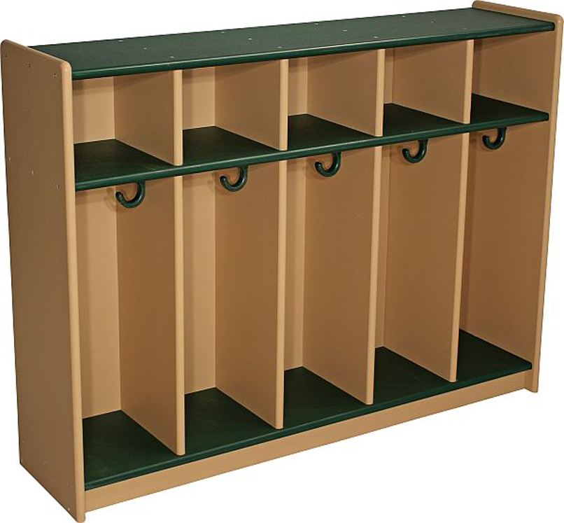 DuraBuilt Toddler Lockers - Available in 4 or 5 Sections