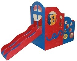 Deluxe Challenger 10 Wave Style Playground Structure, Choice of Colors