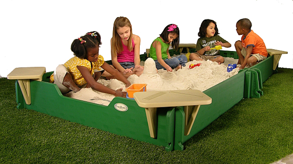 5' by 10' Sandlock Sandbox Kit