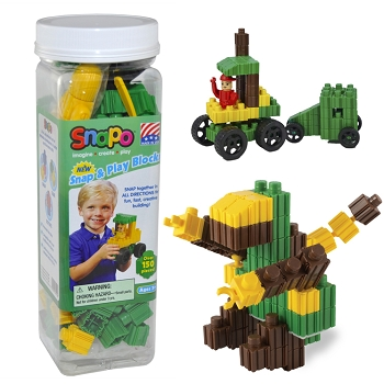 Snap and Play - Over 150 Pieces