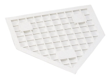 Champion Heavy-Duty Rubber Home Plate, White