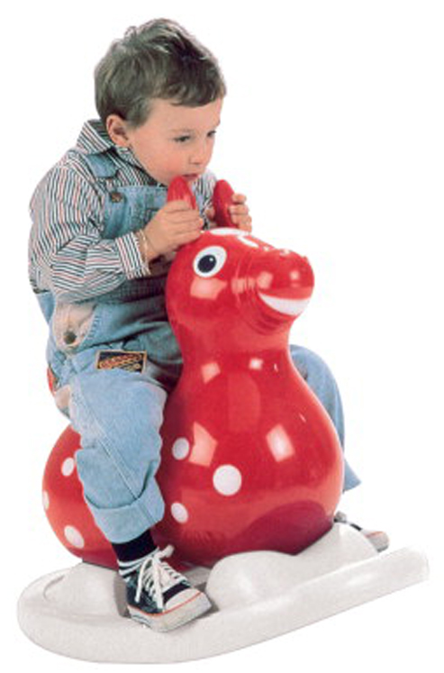 Rody Inflated Ride-On Horse Rocking Rody - Assorted Colors