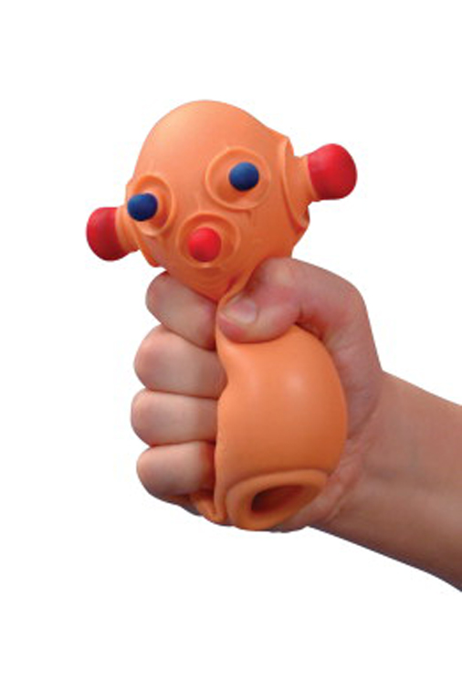 Toysmith Bug Out Bob Squeeze Toy
