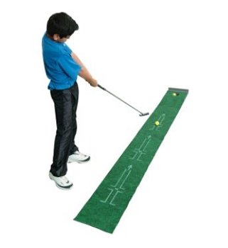 Accelerator Tough Putting Teacher Golf Mat