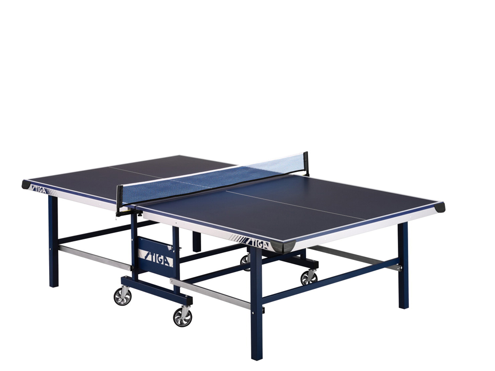 Stiga STS 375 Table Tennis Table with Casters