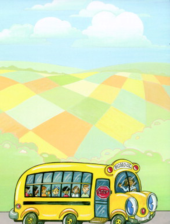 Acid-Free School Bus Design Desktop Publishing Paper - 100 Sheets - Pack of 100