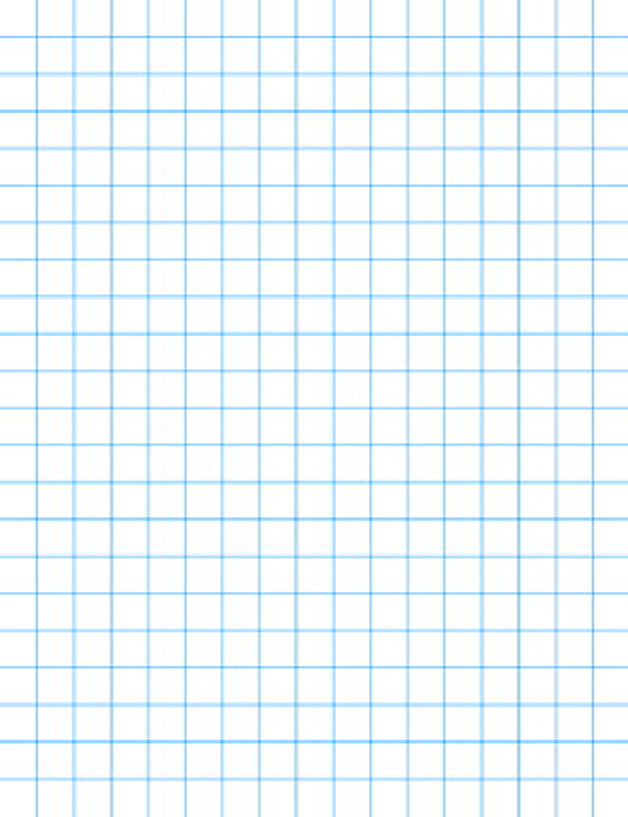 School Smart Graph Paper with Chipboard Back, White - Pack of 500