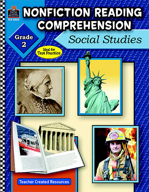 Non-Fiction Reading Comprehension: Social Studies Activity Book, Grades 2 - 3 - 144 Pages