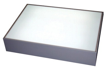 Sax Inovart Lumina Light Box with On/Off Switch, Gray