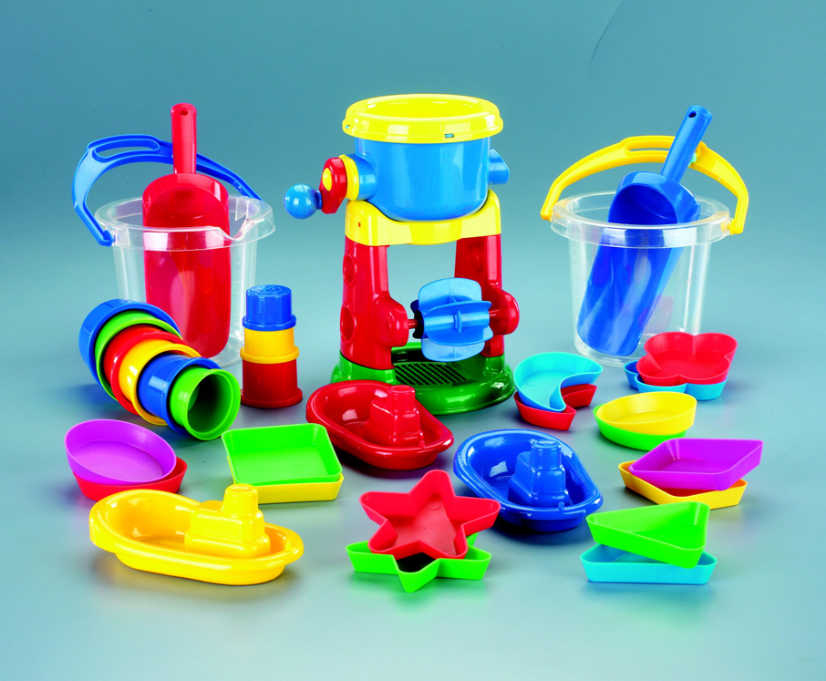 Sand and Water Play - Multiple Colors - Set of 35