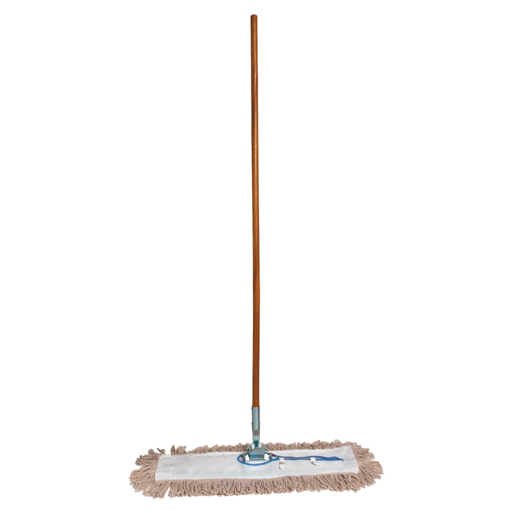 Genuine Joe Dust Mop Complete Combo with Frame and Handle, 24