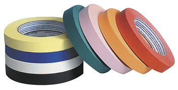 Creativity Street Masking Tape Set, 1 inch x 60 yds. Assorted colors, set of 8