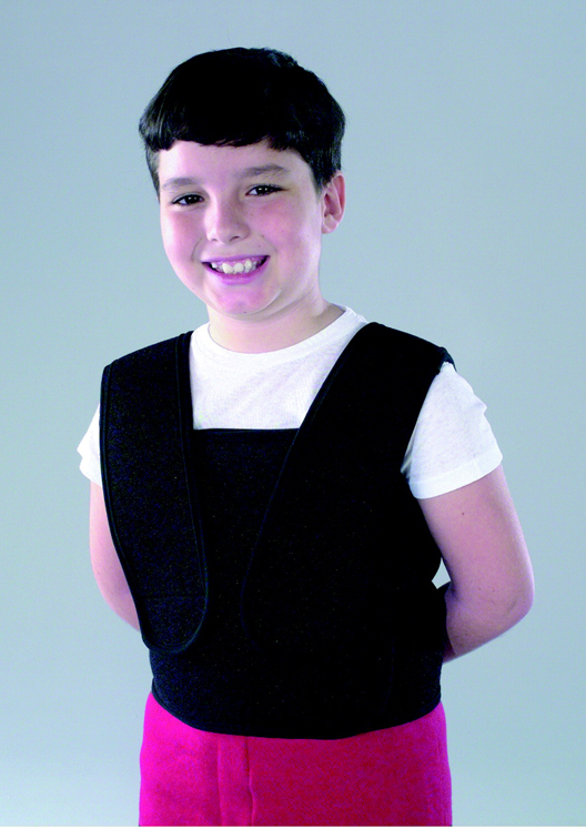 Abilitations Torso Wrap Washable Bear Hug Vest with 24