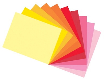 Tru-Ray Sulphite Acid-Free Non-Toxic Construction Paper - Select Size - Assorted Warm or Cool Colors - Pack of 50