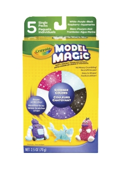 Crayola Model Magic Non-Toxic Dough Shimmer Set, 5 oz - Assorted Color