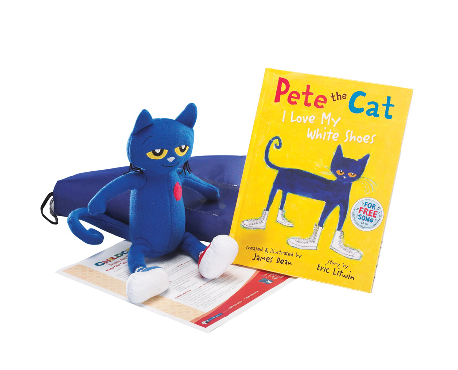 Pete the Cat I Love My White Shoes - Literacy Bag