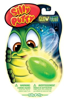 Crayola Non-Toxic Silly Putty Set, Glow-In-The-Dark