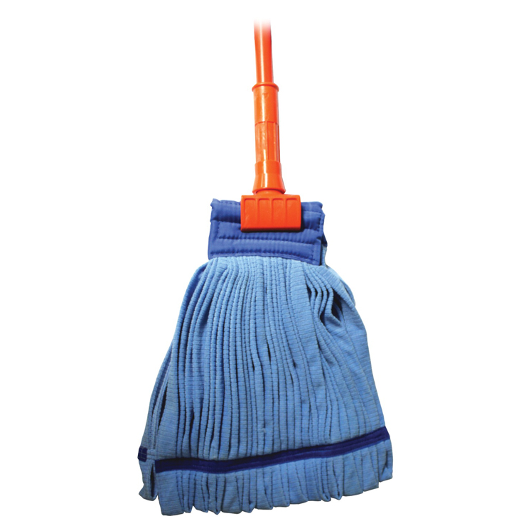 Genuine Joe Complete Wet Mop, Microfiber, Gripper