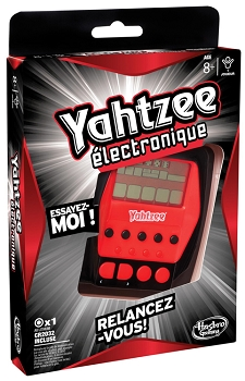 Hasbro Electronic Hand Held Yahtzee Game - 1 Player