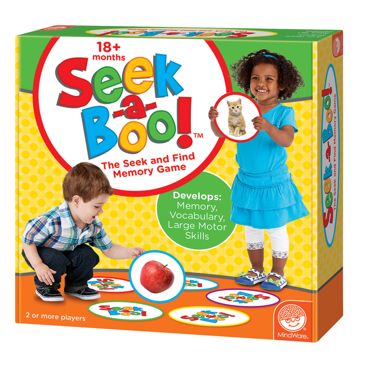 Mindware's Seek-A-Boo Memory Game