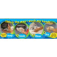 LearningZoneXpress Hand Washing Poster