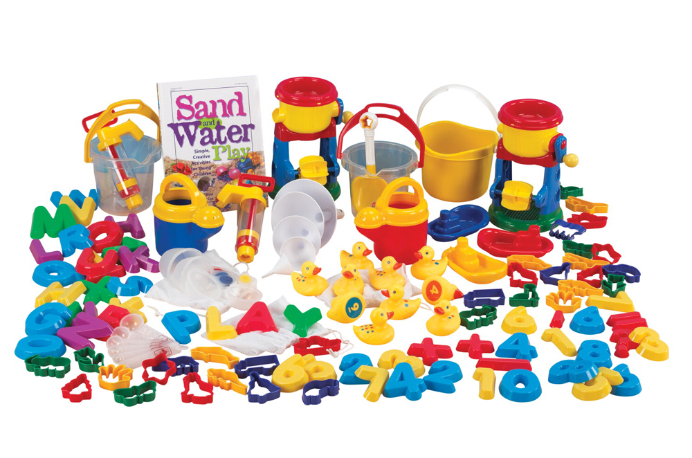 Sand and Water Jr. Activity Play Set - 99-Piece