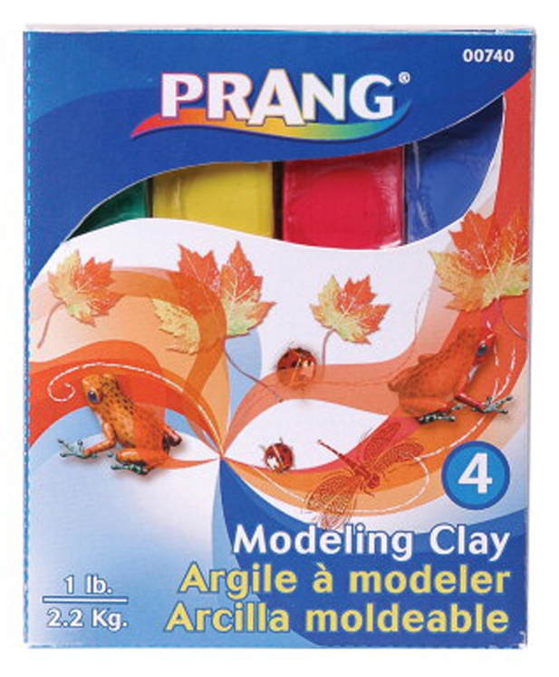 Prang Non-Toxic Clay Stick, 0.25 lb - Assorted Color