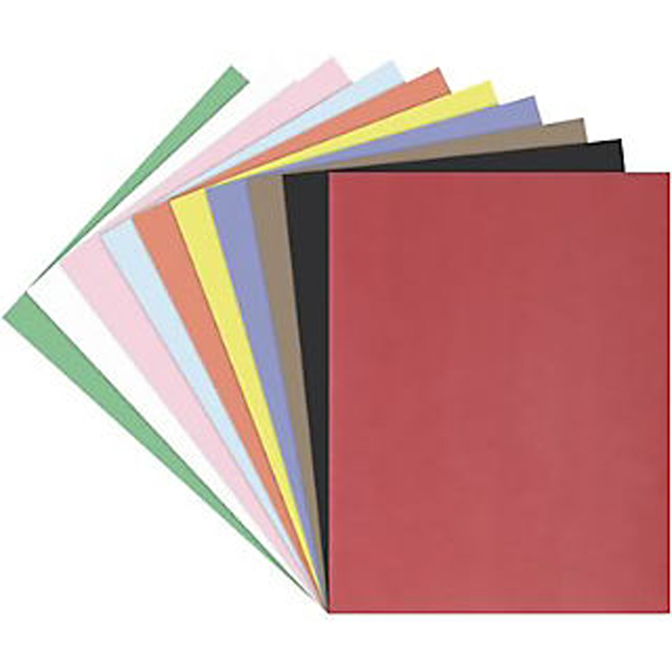Tru-Ray Sulphite Acid-Free Non-Toxic Construction Paper - Standard Color Choices - Pack of 50