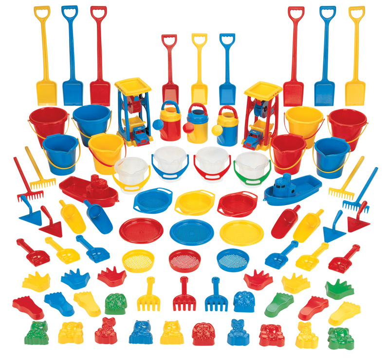Deluxe Sand and Water Activity Set - 84-Piece