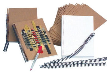 Sax Book Making Binding Coil, 9