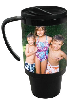 Neil Enterprises Plastic Travel Photo Mug